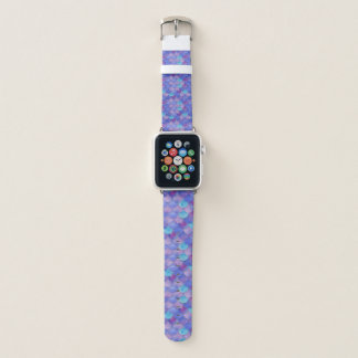 Mermaid Scales Vibrant WC Multi 4 Apple Watch Band