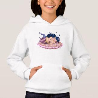 MERMAID SEA  CARTOON Girls' Hanes ComfortBlend® Ho