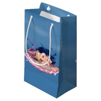 MERMAID SEA FAIRY CARTOON Gift Bag  SMALL MATTE