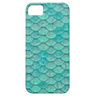 Mermaid Sea Green Scales iPhone 5 Cover