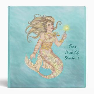 Mermaid Sea Queen Fia Fantasy Md. BOS Grimoire Vinyl Binders