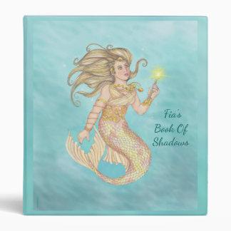 Mermaid Sea Queen Fia Fantasy Sm. BOS Grimoire Vinyl Binders