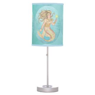 Mermaid Sea Queen Fia Fantasy Table Lamp