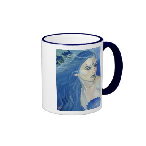 Mermaid Shades of Blue Mug