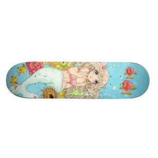 Mermaid skateboard