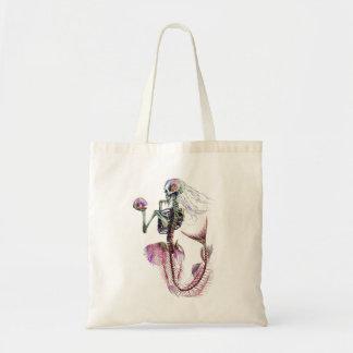 Mermaid Skeleton Budget Tote