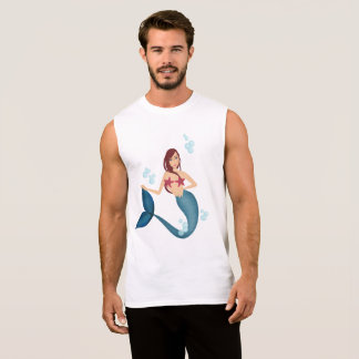 Mermaid Sleeveless Shirt