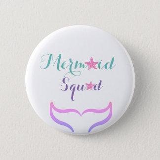 Mermaid Squad 2 Inch Round Button