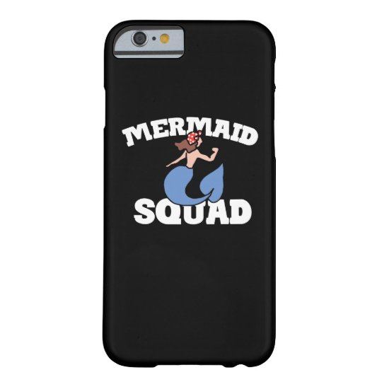 Mermaid squad barely there iPhone 6 case