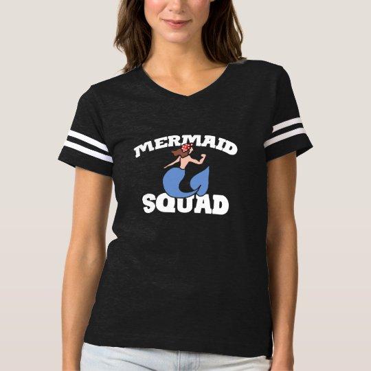 Mermaid squad t-shirt
