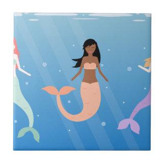 mermaid squad tile