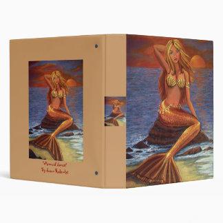Mermaid Sunset - Mermaid Art Binder