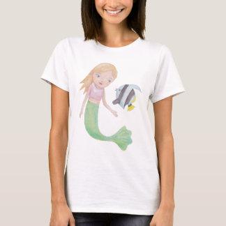 Mermaid T-shirt Mermaid Girl Fish Art Ocean Lover
