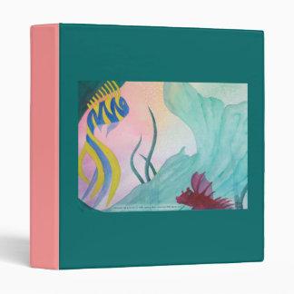 Mermaid Tail & Fish Avery Binder