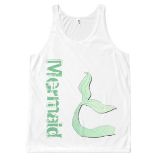 Mermaid Tail Tank Top by Mostly Mermaid Designs