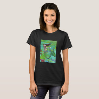 Mermaid Treasure Shirt Ladies' Cut