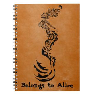 Mermaid Tribal Notebook