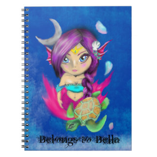 Mermaid Tribal Notebooks