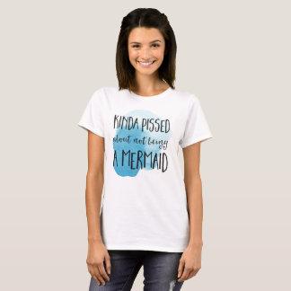 Mermaid Typography quote T-Shirt