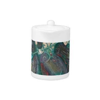 Mermaid Unicorn Ocean Sea Teal Green