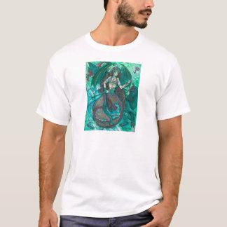 Mermaid Unicorn Ocean Sea Teal Green T-Shirt