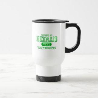 Mermaid University Travel Mug