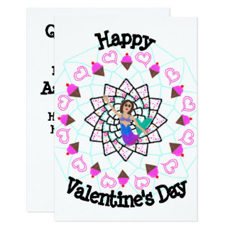 Mermaid Valentine's Day Card customize