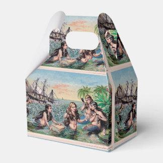 Mermaid Vintage Antique Magic Nautical Favor Box