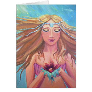 Mermaid Wish - Greeting Card