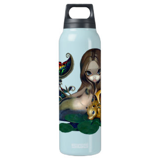"""""""Mermaid with a Golden Dragon"""" Bottle SIGG Thermo 0.5L Insulated Bottle"""