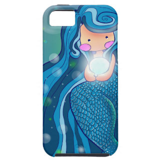 Mermaid with bright pearl iPhone 5 Case