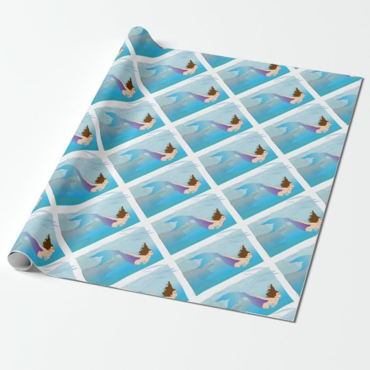 Mermaid Wrapping Paper
