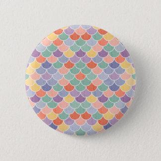 Mermaid XII 2 Inch Round Button