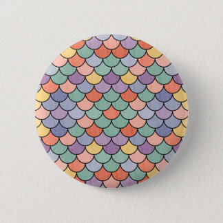 Mermaid XIV 2 Inch Round Button