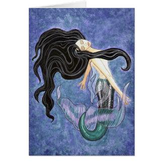 Mermaiden Blank Card