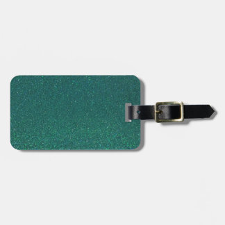 MermaidGreen Luggage Tag