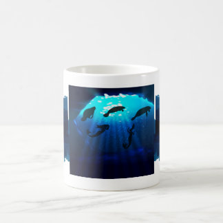 Mermaids And Manatees Coffee Mug