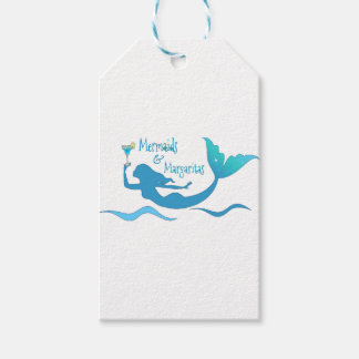 Mermaids and Margarita Wrapping Supplies Gift Tags