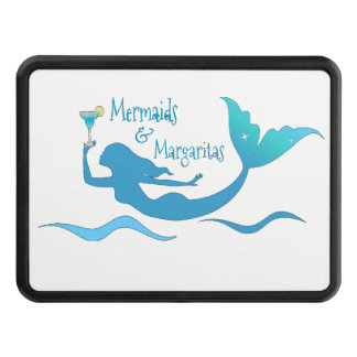 Mermaids and Margaritas Hitch Cover