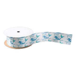 Mermaids and Margaritas Wrapping Supplies Satin Ribbon