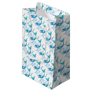 Mermaids and Margaritas Wrapping Supplies Small Gift Bag