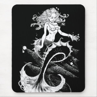 Mermaids Cave Mouse Pad