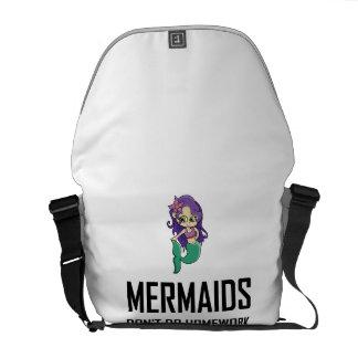 Mermaids Do Not Do Homework Commuter Bag