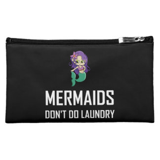 Mermaids Do Not Do Laundry Cosmetic Bag