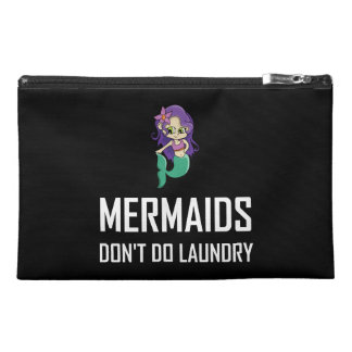 Mermaids Do Not Do Laundry Travel Accessory Bag
