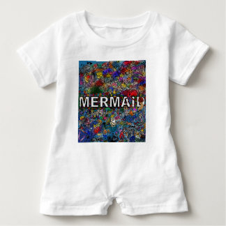 Mermaids Doodle Baby Romper