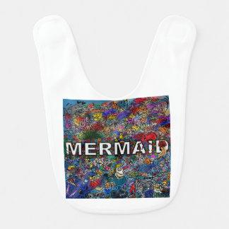 Mermaids Doodle Bib