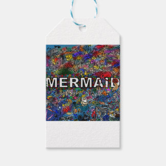 Mermaids Doodle Gift Tags