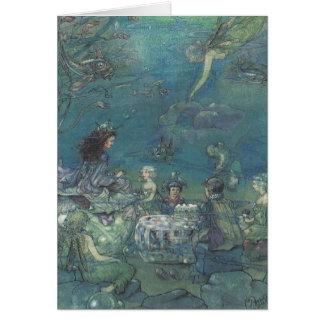 Mermaids & Fairies Tea Party - Card