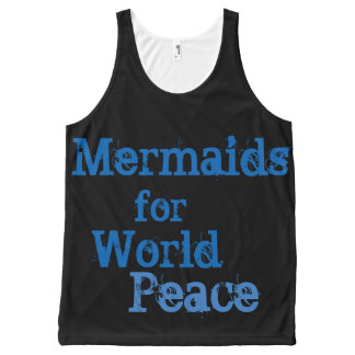 Mermaids for World Peace Tank Top